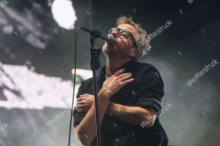 Editorial image of The National in concert at First Direct Arena, Leeds, UK - 09 Dec 2019
