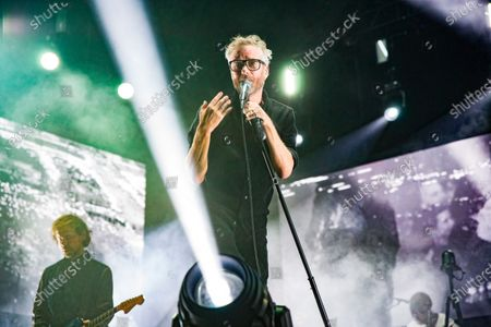 Editorial photo of The National in concert at First Direct Arena, Leeds, UK - 09 Dec 2019