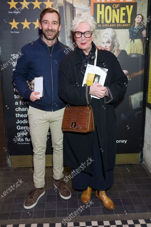 Charlie Condou and Jenny Eclair