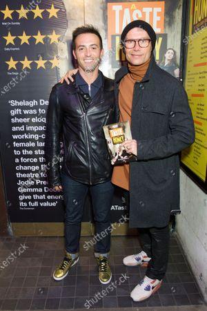 Stock Photo of Jon Tsouras and John Partridge