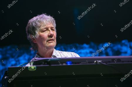 Keyboardist Don Airey performs during the concert of the British rock band Deep Purple in Papp Laszlo Budapest Sports Arena in Budapest, Hungary, 09 December 2019.