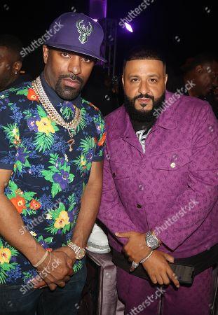 Editorial photo of Nicole & DJ Khaled Birthday Celebration, Art Basel, Miami, USA - 08 Dec 2019