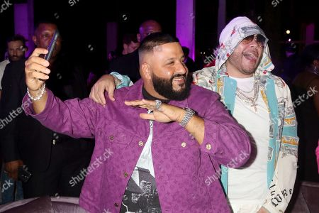 Editorial picture of Nicole & DJ Khaled Birthday Celebration, Art Basel, Miami, USA - 08 Dec 2019