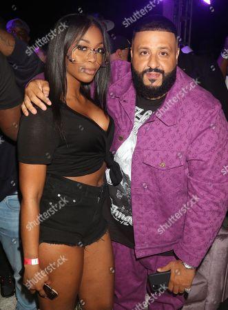 Nafessa Williams and DJ Khaled