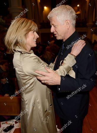Rachel Johnston and Richard Curtis