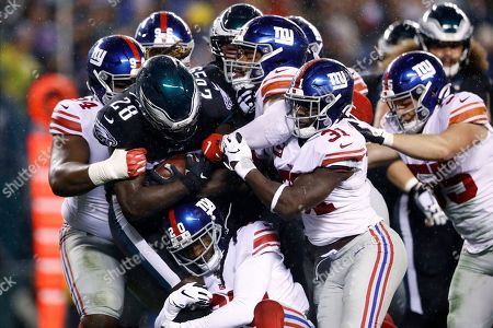 Editorial picture of Giants Eagles Football, Philadelphia, USA - 09 Dec 2019