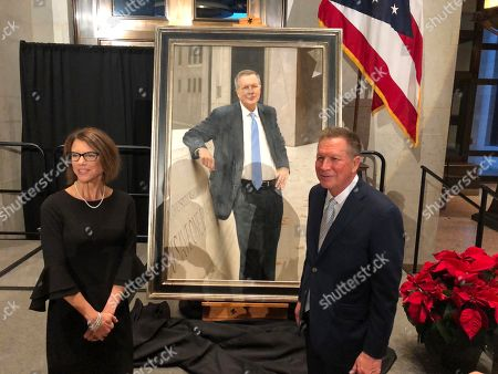 Editorial image of Official Portrait-Kasich, Columbus, USA - 09 Dec 2019