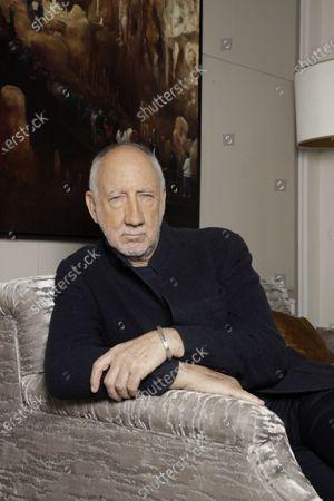 Editorial photo of Pete Townshend photocall, Hotel de Crillon, Paris, France - 25 Nov 2019