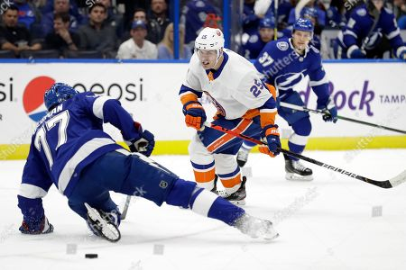 Editorial picture of Islanders Lightning Hockey, Tampa, USA - 09 Dec 2019