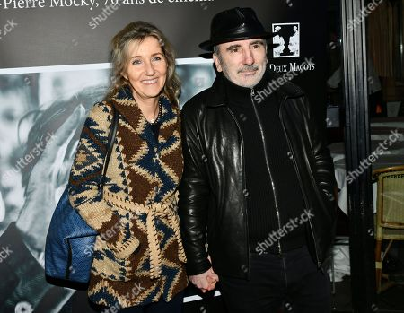 Stock Picture of Sylvie Bourgeois and Philippe Harel