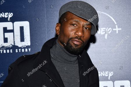 "Leon Robinson attends a screening of ""Togo"", hosted by Disney Plus and The Cinema Society, at iPic Theater, in New York"