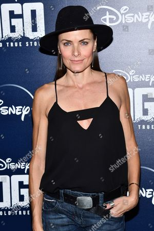 "Tara Westwood attends a screening of ""Togo"", hosted by Disney Plus and The Cinema Society, at iPic Theater, in New York"