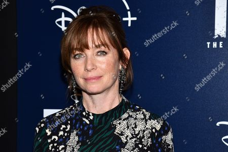 """Julianne Nicholson attends a screening of """"Togo"""", hosted by Disney Plus and The Cinema Society, at iPic Theater, in New York"""