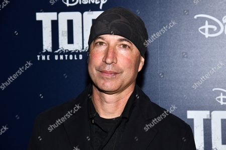 "Ericson Core attends a screening of ""Togo"", hosted by Disney Plus and The Cinema Society, at iPic Theater, in New York"