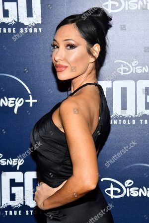 "Stock Image of Kea Ho attends a screening of ""Togo"", hosted by Disney Plus and The Cinema Society, at iPic Theater, in New York"