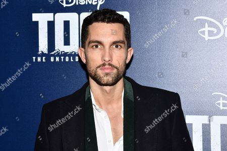 """Tobias Sorensen attends a screening of """"Togo"""", hosted by Disney Plus and The Cinema Society, at iPic Theater, in New York"""