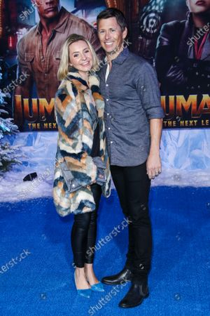 Stock Picture of Beverley Mitchell and Michael Cameron
