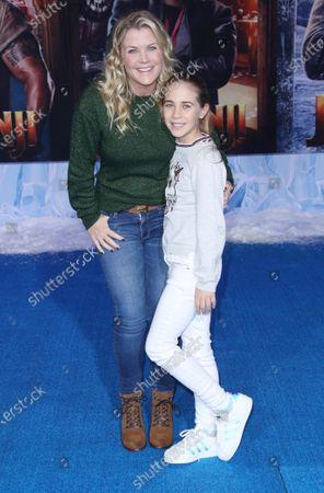 Stock Photo of Alison Sweeney and Megan Sanov