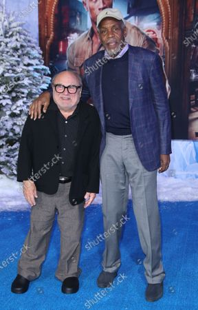 Danne DeVito and Danny Glover