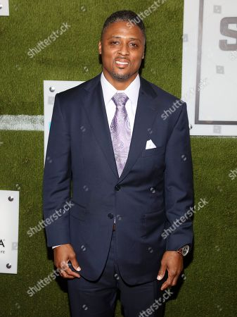 Warrick Dunn attends the Sports Illustrated Sportsperson of the Year Awards at the Ziegfeld Ballroom, in New York
