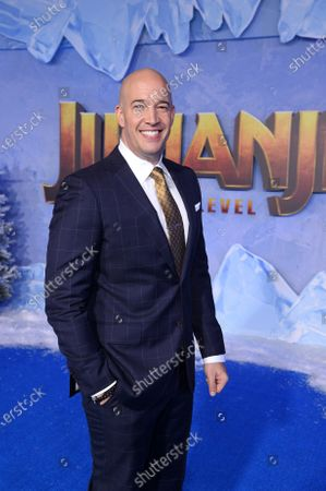 Hiram Garcia at the World Premiere of Columbia Pictures' JUMANJI: THE NEXT LEVEL at the TLC Chinese Theater.