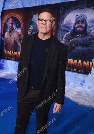 Matthew Lillard at the World Premiere of Columbia Pictures' JUMANJI: THE NEXT LEVEL at the TLC Chinese Theater.