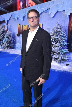 Tom Rothman at the World Premiere of Columbia Pictures' JUMANJI: THE NEXT LEVEL at the TLC Chinese Theater.