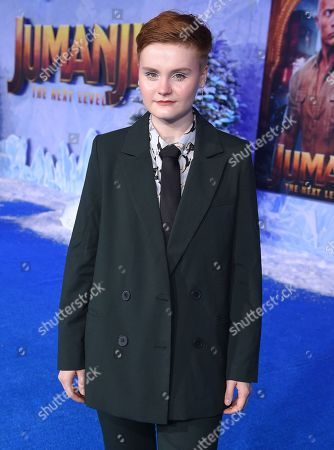 Morgan Turner at the World Premiere of Columbia Pictures' JUMANJI: THE NEXT LEVEL at the TLC Chinese Theater.