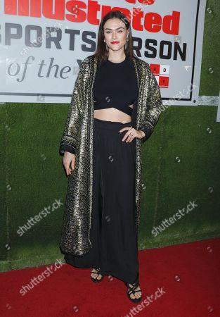 Editorial photo of Sports Illustrated Annual Sportsperson of the Year Awards, Arrivals, Ziegfeld Ballroom, New York, USA - 09 Dec 2019