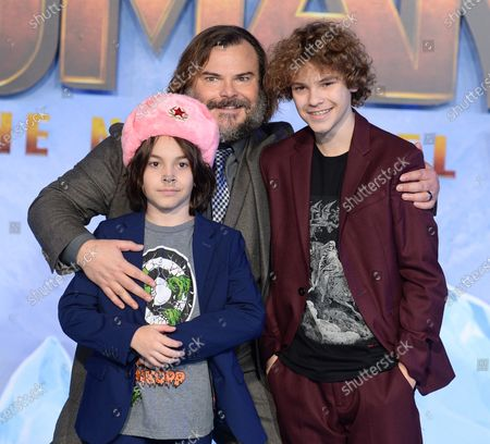 Stock Picture of Thomas Black, Jack Black and Samuel Black
