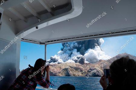 Editorial image of New Zealand Volcano Erupts - 09 Dec 2019