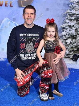 Stock Photo of Perez Hilton and Mia Alma Lavandeira