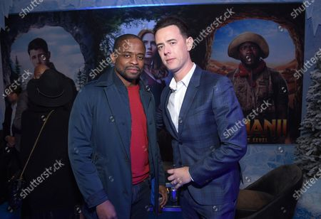 Dule Hill and Colin Hanks