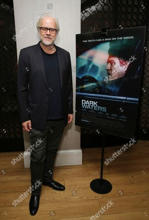 "Tim Robbins seen at the Focus Features ""Dark Waters"" Special Screening at the London Hotel on in Los Angeles"