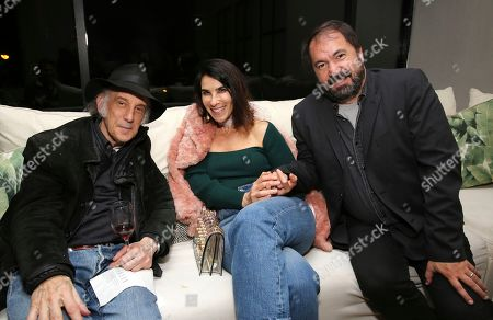 """Edward Lachman, Laura Merians, Affonso Goncalves. Director of photography Edward Lachman, Laura Merians and editor Affonso Goncalves seen at the Focus Features """"Dark Waters"""" Special Screening at the London Hotel on in Los Angeles"""