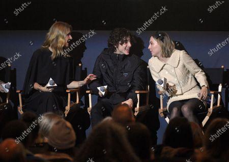 Editorial picture of Exclusive - 'Little Women' BAFTA film screening, New York, USA - 09 Dec 2019