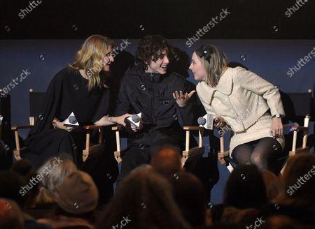 Editorial image of Exclusive - 'Little Women' BAFTA film screening, New York, USA - 09 Dec 2019