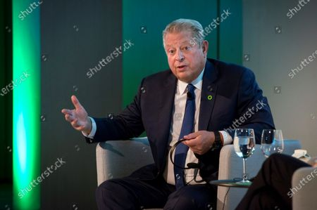 Former US Vice President Al Gore attends a conference during the COP25 UN Climate Change Conference in Madrid, Spain, 10 December 2019. The summit runs in the Spanish capital until next 13 December.