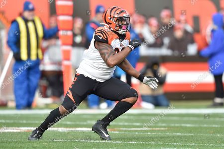 Editorial picture of Bengals Browns Football, Cleveland, USA - 08 Dec 2019