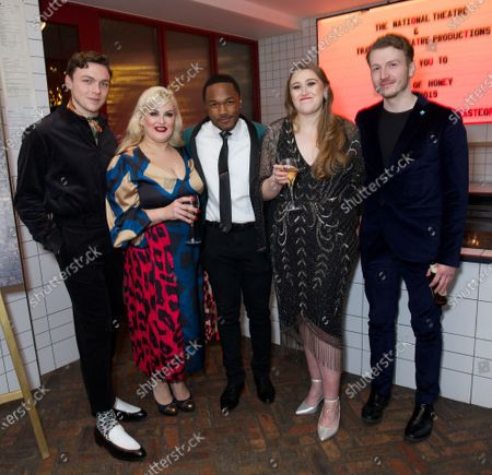 Editorial image of 'A Taste of Honey' play opening night, After Party, London, UK - 09 Dec 2019