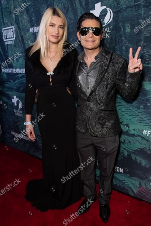 Courtney Anne Mitchell and Corey Feldman