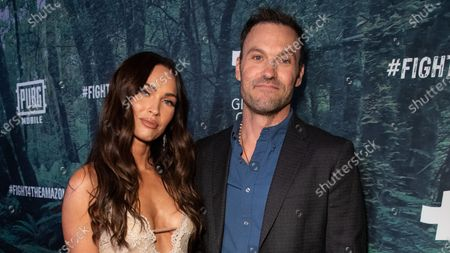 Stock Photo of Megan Fox and Brian Austin Green