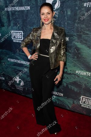 Editorial picture of PUBG Mobile's #FIGHT4THEAMAZON Event, Los Angeles, USA - 09 Dec 2019