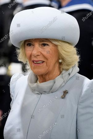 Stock Picture of Camilla Duchess of Cornwall