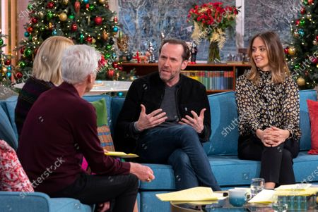 Phillip Schofield, Holly Willoughby, Ben Miller and Susannah Fielding