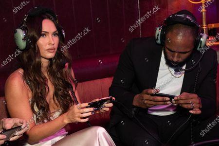 "Megan Fox and Stephen ""tWitch"" Boss"