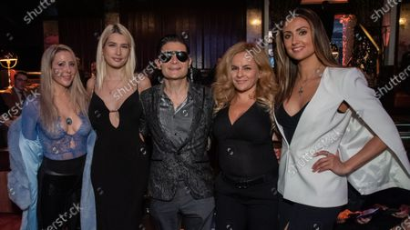 Tracy Zamanski, Courtney Anne Mitchell-Feldman, Corey Feldman, Vered Elkouby Nisim and Katie Cleary