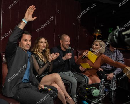 "Brian Austin Green, Allison Holker, Jordan Harvey, Kimberly Caldwell and ""McCoffee"" aka Martin Couture"
