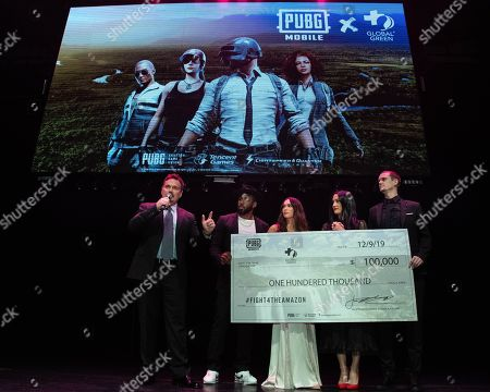 Editorial picture of PUBG Mobile's #FIGHT4THEAMAZON Party, Los Angeles, USA - 09 Dec 2019
