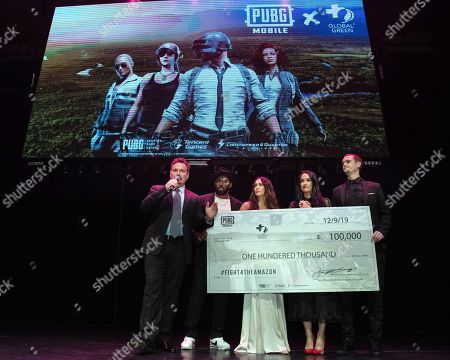 Editorial photo of PUBG Mobile's #FIGHT4THEAMAZON Party, Los Angeles, USA - 09 Dec 2019